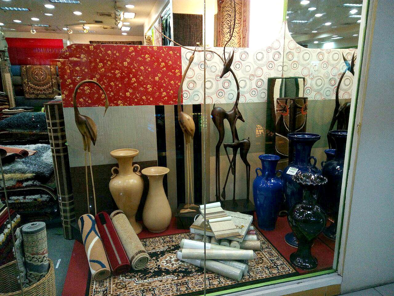 Wood Interior Decors and Vases